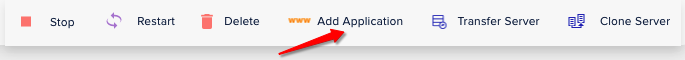 Add Application on cloudways