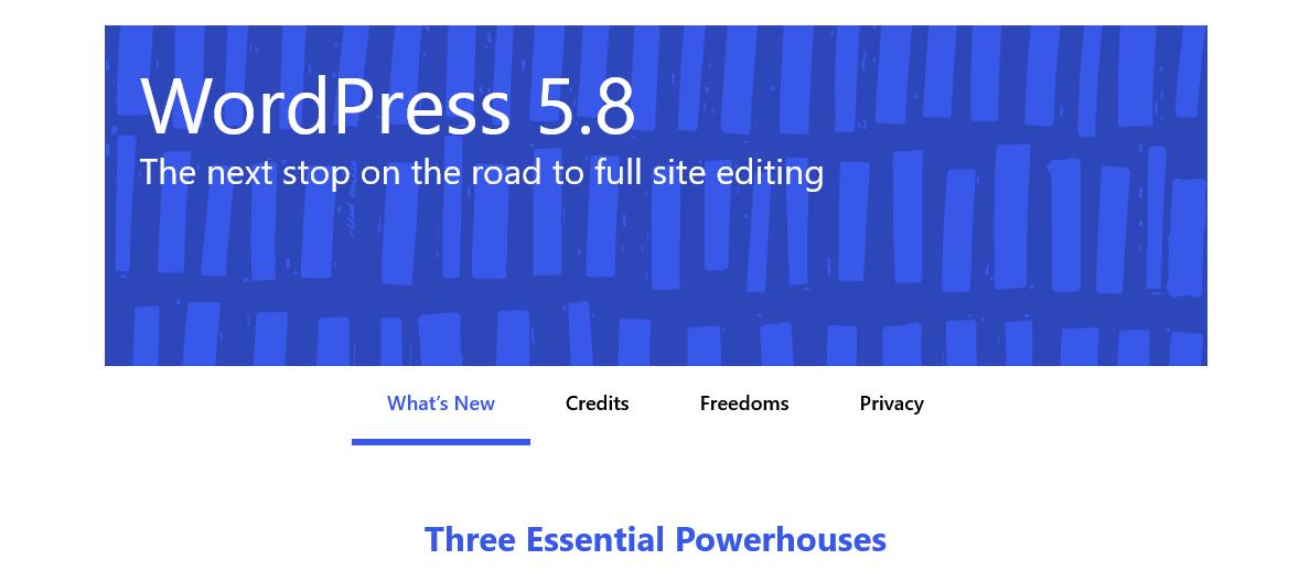 Wordpress_5.8_Beta